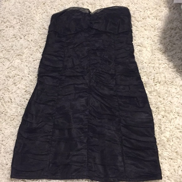 Zara Dresses & Skirts - Black Sweetheart Strapless Dress